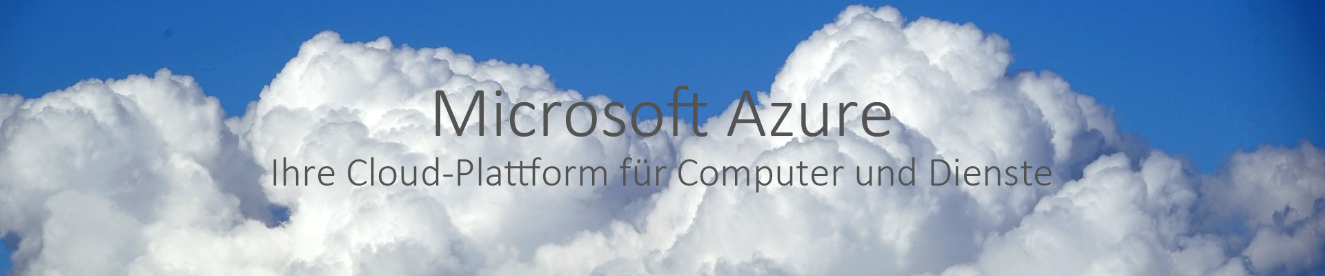 Ammann IT Services GmbH | Microsoft Azure